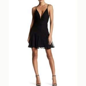 Revolve NBD Black Aida Dress